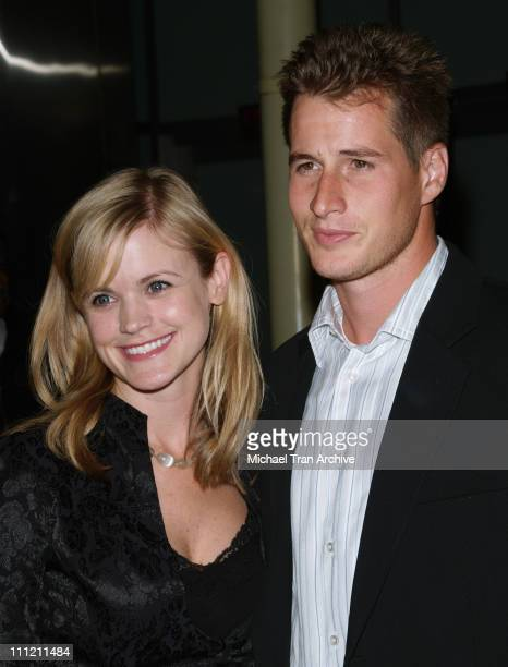 Jennifer Rowley and Brendan Fehr during 'Catch a Fire' Los Angeles Premiere Arrivals at ArcLight Cinemas in Hollywood California United States