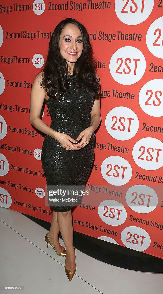 Jennifer Sanchez attends the after party for the opening night production of 'Little Miss Sunshine' at Yotel on November 14, 2013 in New York City.