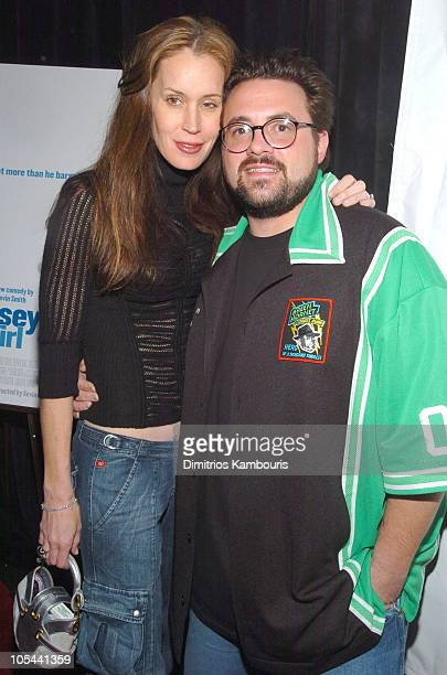 Jennifer Schwalbach Smith and husband Kevin Smith during The 2nd Annual Kenny Gordon Foundation Benefit at Metronome in New York City New York United...