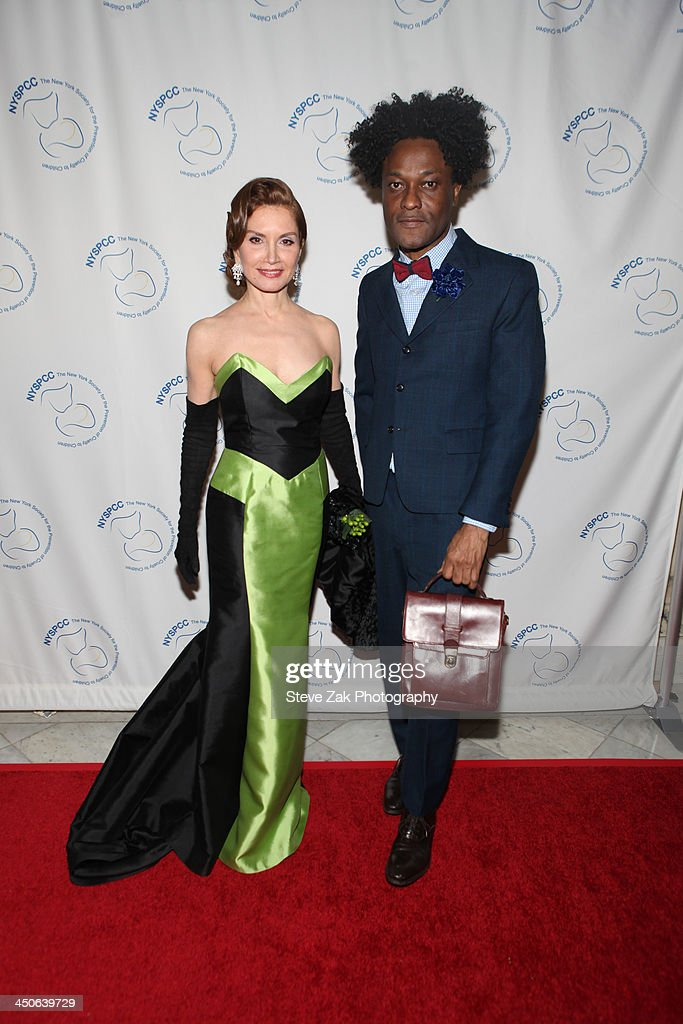 Jennifer Shafiraff and Ike Udo attends the New York Society For The Prevention Of Cruelty To Children 2013 Wine Dinner at Metropolitan Pavilion on...