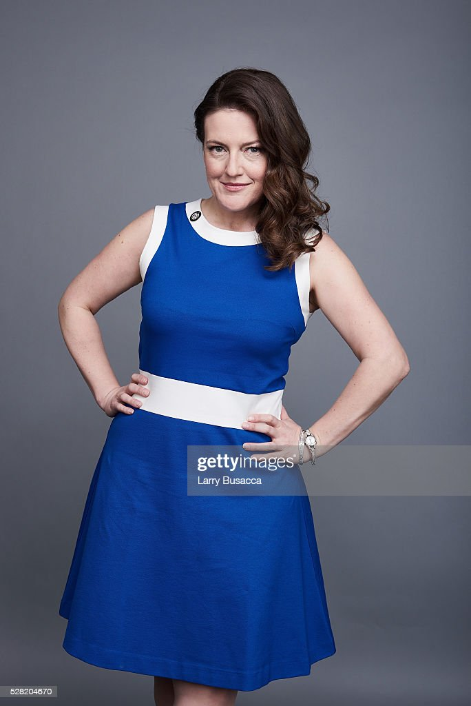 Jennifer Simard poses for a portrait at the 2016 Tony Awards Meet The Nominees Press Reception on May 4, 2016 in New York City.