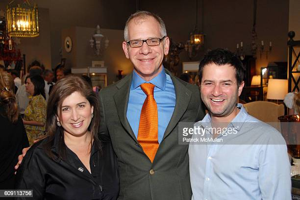 Jennifer Smith Hale Joseph Singer and Michael Smith attend Cocktails at Hollyhock Honoring Mish NY and the Breast Center at UCLA at West Hollywood on...