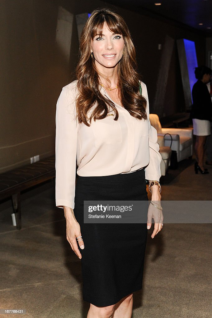 Jennifer Stallone attends Women A.R.E. Salon Event Featuring Home Shopping Network's CEO Mindy Grossman at SLS Hotel on April 29, 2013 in Beverly Hills, California.