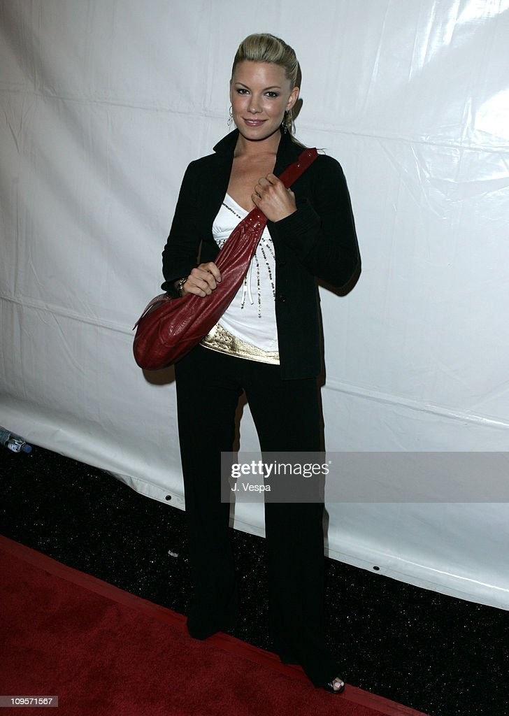 Jennifer Thayer during DKNY Jeans Presents 'Mick Rock Live in L.A.' Exhibit at the Lo-Fi Gallery at Lo-Fi in Los Angeles, California, United States.