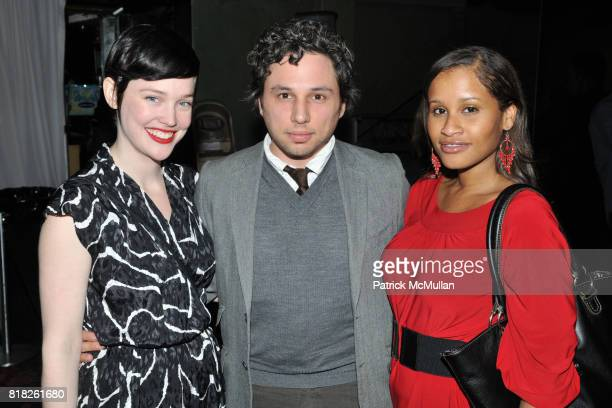 Jennifer Thorpe Josh Horowitz and Roni Patterson attend 2010 BAILEY HOUSE Auction and Party at Roseland Ballroom on February 25 2010 in New York City