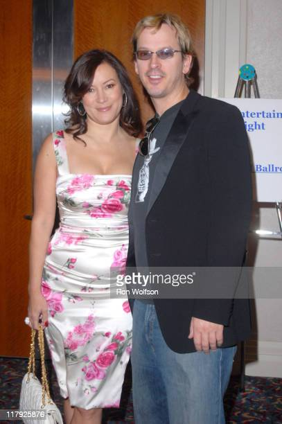 Jennifer Tilly and Phil Laak during Casino Night Fundraiser For Caucus Foundation August 19 2006 at Renassaince Hotel in Hollywood CA United States