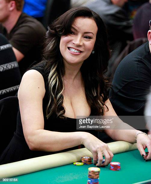 Jennifer Tilly attends the 8th Annual World Poker Tour Invitational at Commerce Casino on February 20 2010 in City of Commerce California