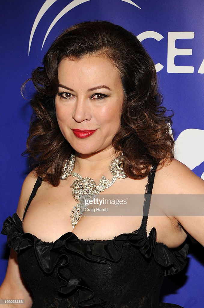 Jennifer Tilly attends The Inaugural Oceana Ball at Christie's on April 8, 2013 in New York City.