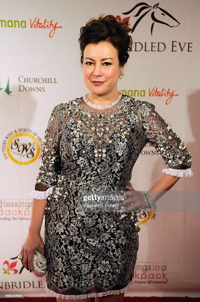 Jennifer Tilly attends the Julep Ball 2013 during the 139th Kentucky Derby at The Galt House Hotel & Suites - Grand Ballroom on May 3, 2013 in Louisville, Kentucky.