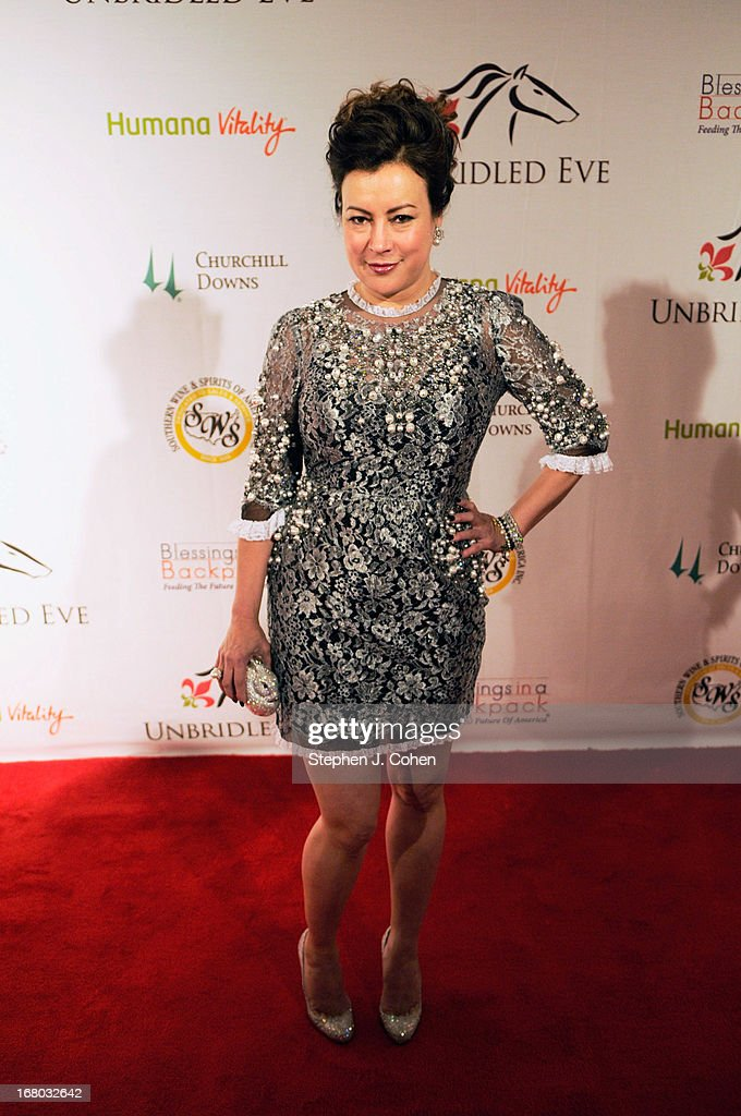 <a gi-track='captionPersonalityLinkClicked' href=/galleries/search?phrase=Jennifer+Tilly&family=editorial&specificpeople=202575 ng-click='$event.stopPropagation()'>Jennifer Tilly</a> attends the Julep Ball 2013 during the 139th Kentucky Derby at The Galt House Hotel & Suites - Grand Ballroom on May 3, 2013 in Louisville, Kentucky.
