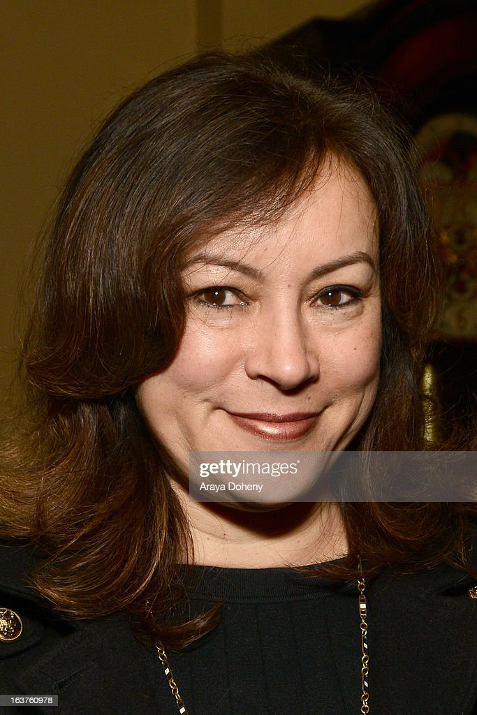 <a gi-track='captionPersonalityLinkClicked' href=/galleries/search?phrase=Jennifer+Tilly&family=editorial&specificpeople=202575 ng-click='$event.stopPropagation()'>Jennifer Tilly</a> attends the PETA President Ingrid E. Newkirkt launches 'Naked Truth' U.S. tour at the Ebell of Los Angeles event at The Wilshire Ebell Theatre on March 14, 2013 in Los Angeles, California.