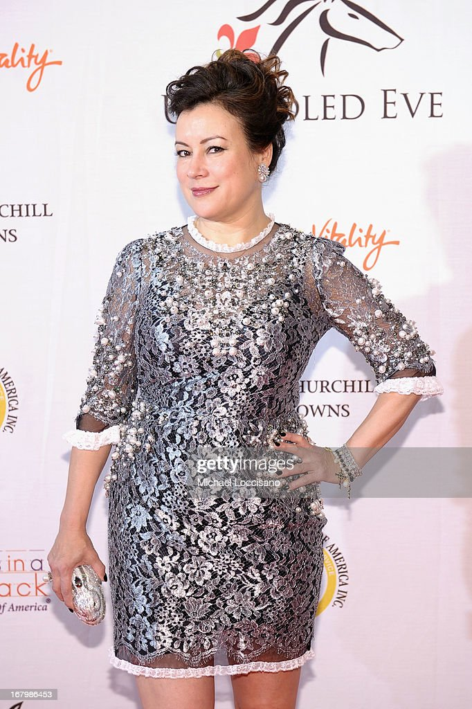 Jennifer Tilly attends the Unbridled Eve Gala for the 139th Kentucky Derby at The Galt House Hotel & Suites' Grand Ballroom on May 3, 2013 in Louisville, Kentucky.