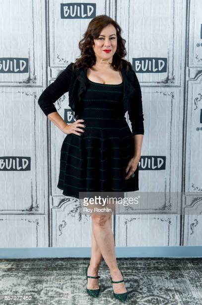 Jennifer Tilly discusses 'Cult of Chucky' with the Build Series at Build Studio on October 3 2017 in New York City