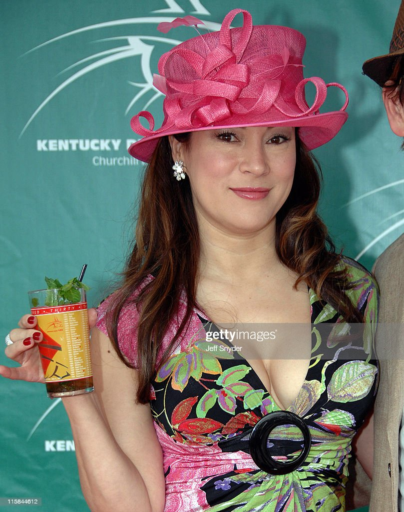 Jennifer Tilly during 133rd Kentucky Derby Arrivals at Churchill Downs in Louisville Kentucky United States
