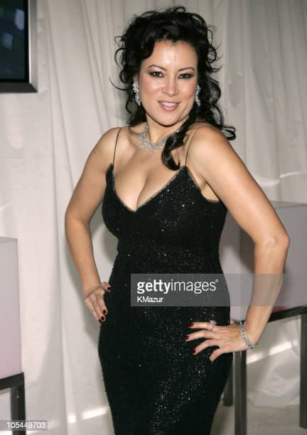 Jennifer Tilly during 13th Annual Elton John AIDS Foundation Oscar Party Cohosted by Chopard Inside at Pacific Design Center in West Hollywood...