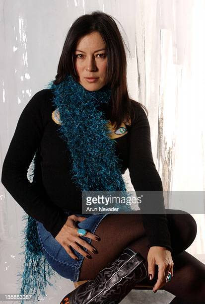 Jennifer Tilly during 2004 Sundance Film Festival Jennifer Tilly of 'Second Best' Portraits taken on 1/17/04 at Skyy Lounge in Park City UT United...