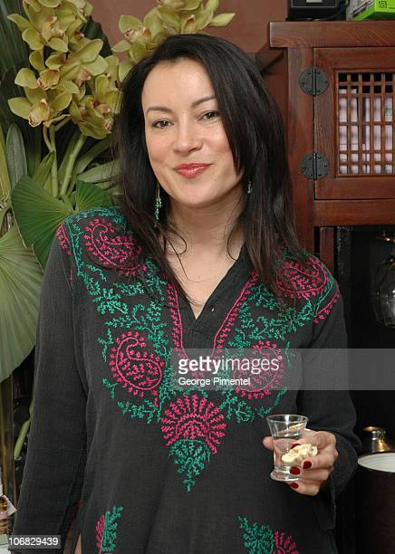 Jennifer Tilly during 2005 Toronto Film Festival Tastemakers Lounge Sponsored by Flare Magazine Day 2 at The Intercontinential Hotel in Toronto Canada