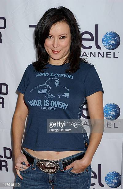 Jennifer Tilly during 2005 World Poker Tour Invitational Arrivals at Commerce Casino in City of Commerce California United States