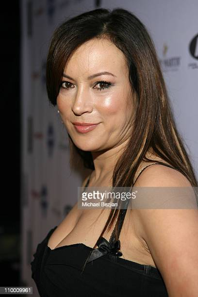 Jennifer Tilly during 2nd Annual Celebrity Poker Tournament to Benefit The Urban Health Institute Arrivals and Inside at Playboy Mansion in Holmby...