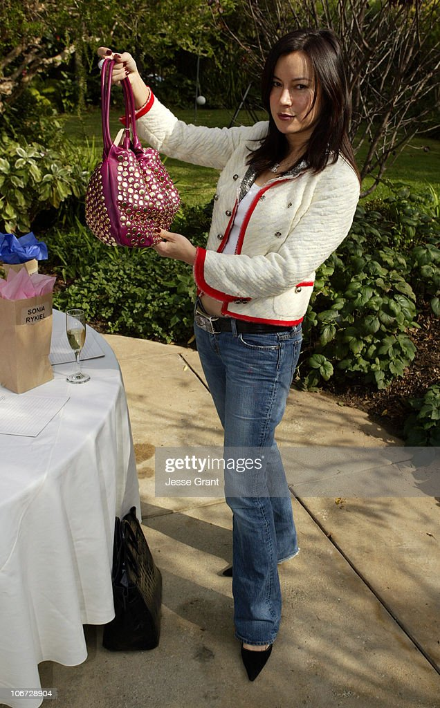Jennifer Tilly during Brown Bag Holiday Bash to Benefit PS Arts at Home of Heidi Haddad in Los Angeles California United States