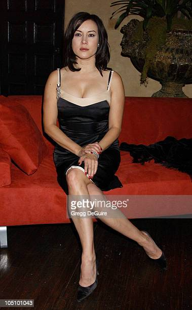Jennifer Tilly during Global Vision For Peace Party at Talmadge Estate in Los Feliz California United States