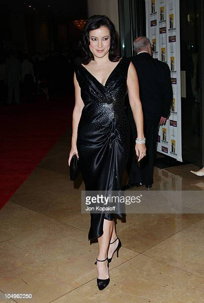 Jennifer Tilly during Hollywood Awards Gala Ceremony Red Carpet Arrivals at The Beverly Hilton in Beverly Hills California United States