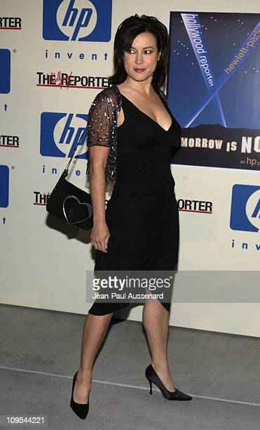 Jennifer Tilly during HP and The Hollywood Reporter Celebrate 'The Future Through TV Film' Arrivals at Astra West in West Hollywood California United...