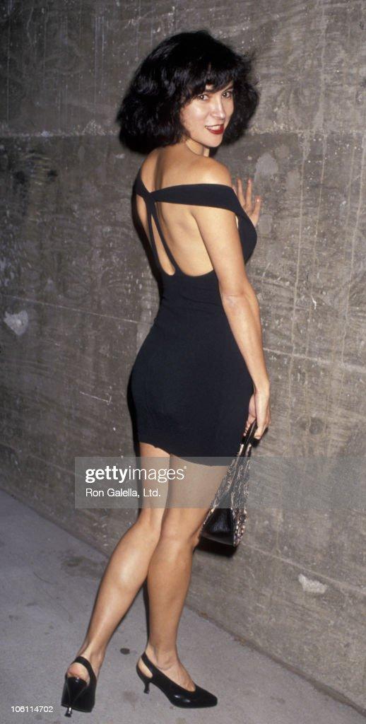 Jennifer Tilly during James Tarantino Fashion Show June 22 1989 at Club Vertigo in Los Angeles California United States