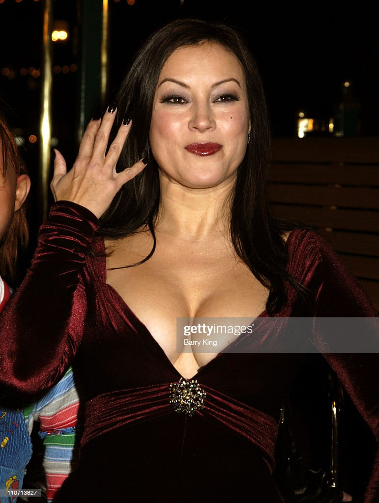 Jennifer Tilly during 'Seed of Chucky' Los Angeles Premiere Arrivals at The Grove in Los Angeles California United States