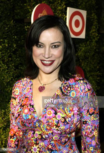 Jennifer Tilly during Target Introduces Cynthia Rowley and Ilene Rosenzweig's New Home Collection 'Swell' Arrivals at Private Residence in Beverly...