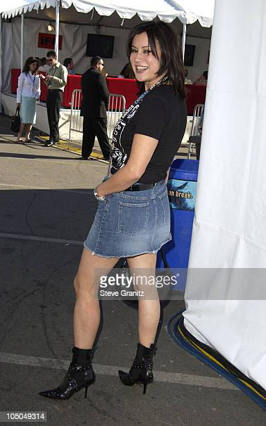Jennifer Tilly during The 18th Annual IFP Independent Spirit Awards Backstage at Santa Monica Beach in Santa Monica California United States
