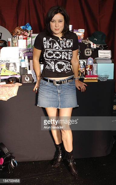 Jennifer Tilly during The 18th Annual IFP Independent Spirit Awards Official Talent Gift Bag Produced by On 3 Productions at Santa Monica Beach in...