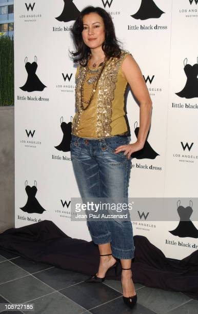 Jennifer Tilly during The 4th Annual Little Black Dress Gala Arrivals at W Los Angeles in Los Angeles California United States