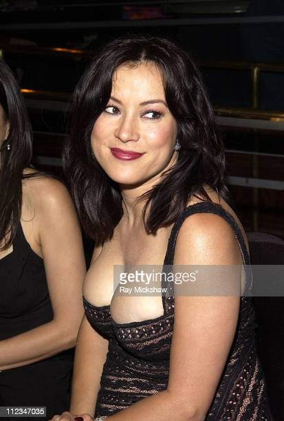 Jennifer Tilly during The 9th Annual Race to Erase MS CoChaired by Nancy Davis Tommy Hilfiger Fashion Show at The Century Plaza Hotel in Century City...