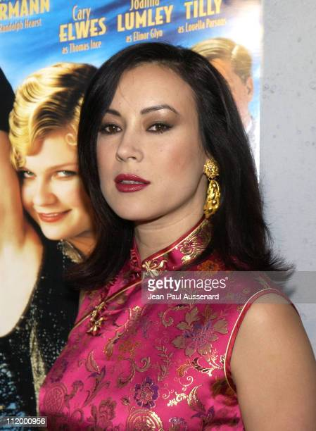 Jennifer Tilly during 'The Cat's Meow' Los Angeles Premiere at Harmony Gold in Hollywood California United States