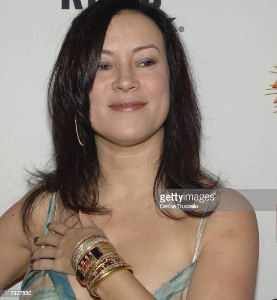 Jennifer Tilly during The Rio Hotel and Casino Resort Hosts the 2005 World Series Poker Party at Rio Hotel and Casino Resort in Las Vegas Nevada...