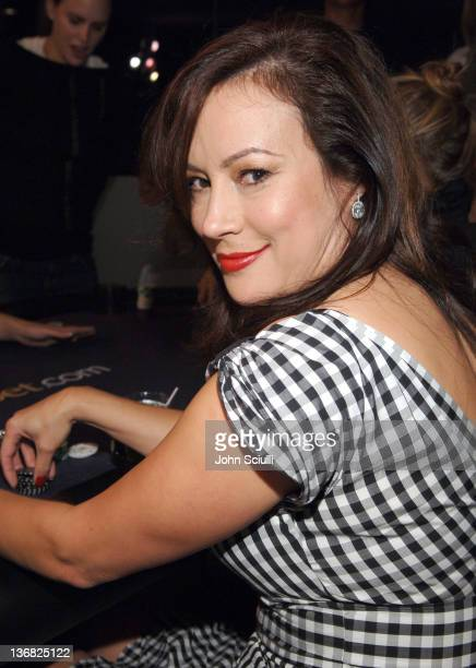 Jennifer Tilly during Ultimatebetcom Kari Feinstein and Mike McGuiness Host Celebrity Poker Tournament to Honor Clifton Collins Jr's Emmy Nomination...