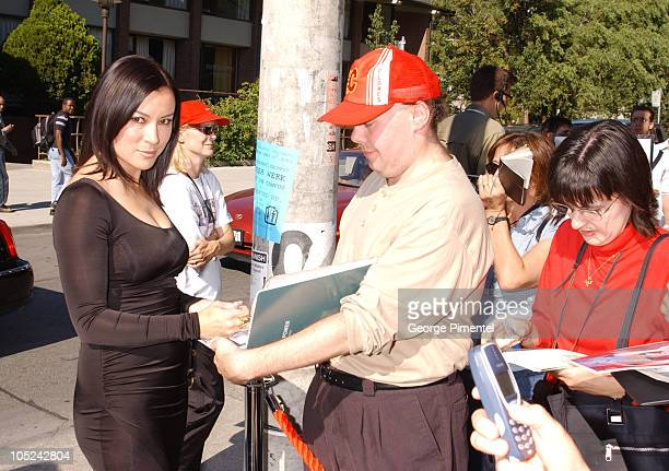 Jennifer Tilly Fans during 2003 Toronto International Film Festival 'Hollywood North' Premiere at Isabel Bater Theatre in Toronto Ontario Canada