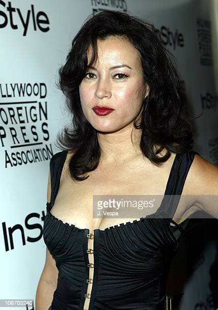 Jennifer Tilly hair by Jie for Chanel and makeup by Chanel