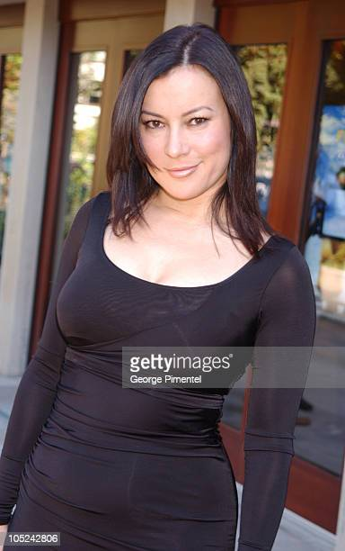 Jennifer Tilly in hair by Christian Marc for Chanel and makeup by Chanel