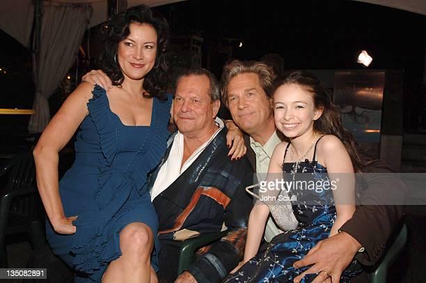 Jennifer Tilly Terry Gilliam director Jeff Bridges and Jodelle Ferland