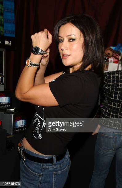 Jennifer Tilly with Hamilton Watch during The 18th Annual IFP Independent Spirit Awards Official Talent Gift Bag Produced by On 3 Productions at...