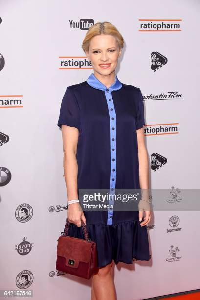 Jennifer Ulrich attends the 99FireFilmsAward at Admiralspalast on February 16 2017 in Berlin Germany