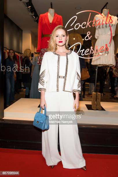 Jennifer Ulrich attends the BaSh store opening on March 23 2017 in Berlin Germany
