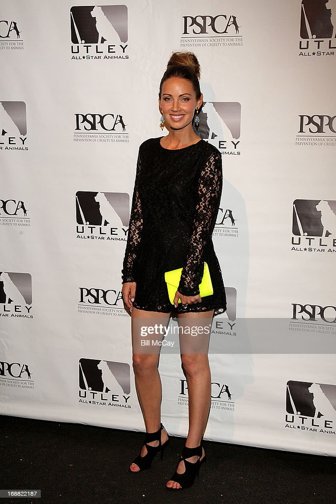 Jennifer Utley attends the 6th Annual Utley All-Star Animals Casino Night to benefit the Pennsylvania SPCA at The Electric Factory May 15, 2013 in Philadelphia, Pennsylvania.