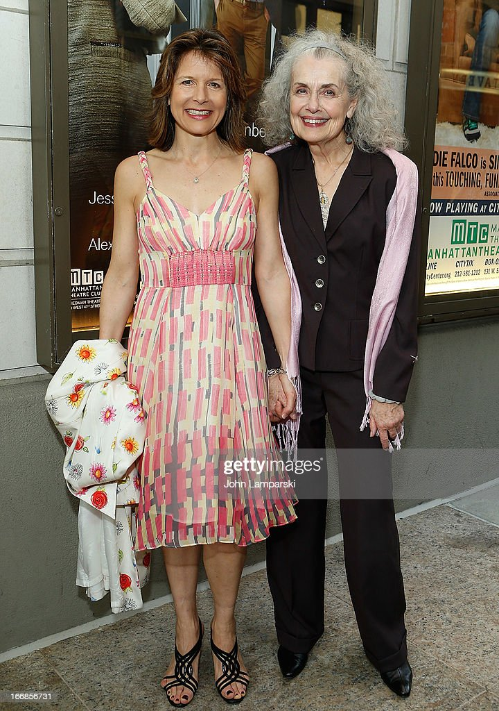 Jennifer Van Dyke and Mary Beth Peil attend 'The Assembled Parties' Broadway Opening Night at the Samuel J. Friedman Theatre on April 17, 2013 in New York City.