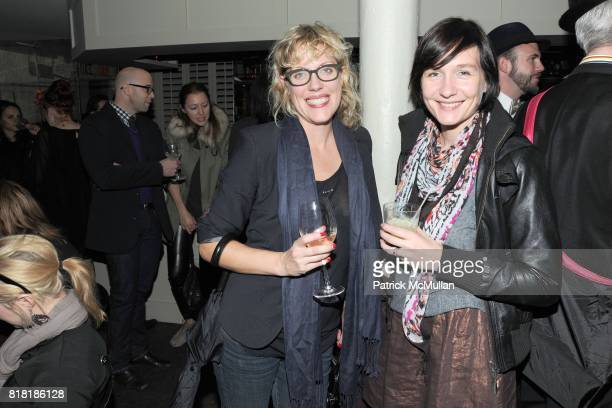 Jennifer Watson and Helen Jackers attend 'Forgotten Fashion' book party honoring the release of Let's Bring Back by Lesley MM Blume at Library on...