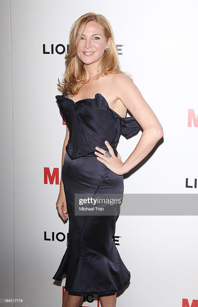 Jennifer Westfeldt arrives at AMC's 'Mad Men' season 6 premiere held at DGA Theater on March 20, 2013 in Los Angeles, California.