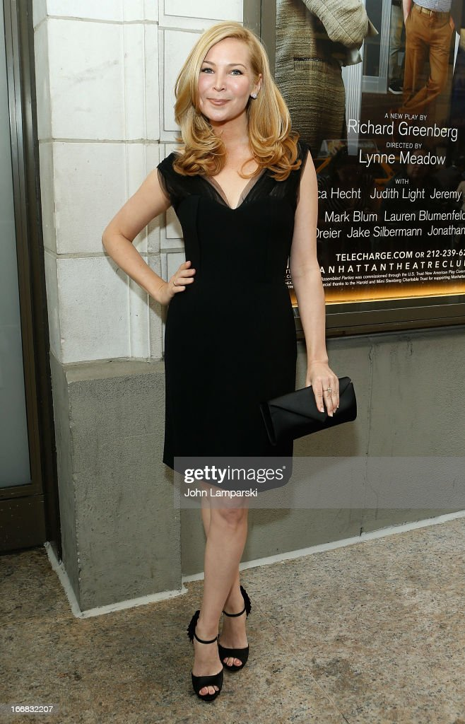 Jennifer Westfeldt attends 'The Assembled Parties' Broadway Opening Night at the Samuel J. Friedman Theatre on April 17, 2013 in New York City.