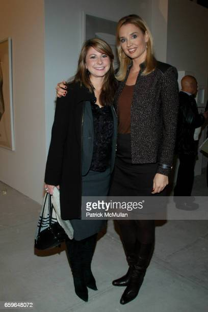 Jennifer Williams and Laurie Dhue attend POWER AND BURDEN OF BEAUTY By RACHEL HOVNANIAN Panel Discussion at 520 W 20th Street on October 29 2009 in...